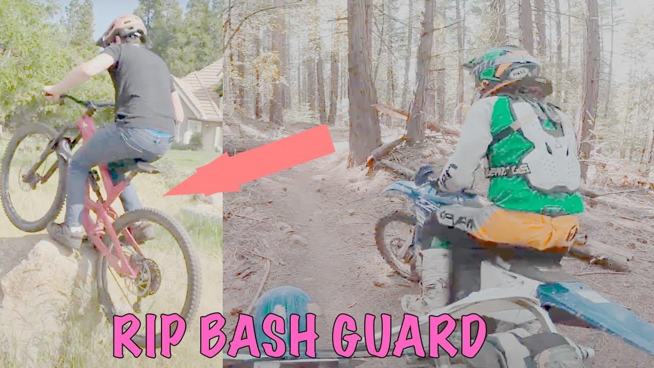 Big Mountain Bike Trials and High Speed Mountain Dirtbike Trail Riding (Vlog 4)
