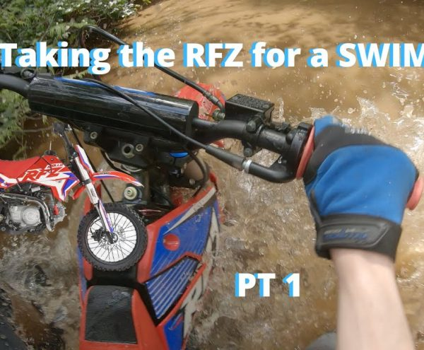 Can a Chinese Pit Bike Keep Up With Brand Name Bikes On Trails? 125CC vs 350CC | PT 1