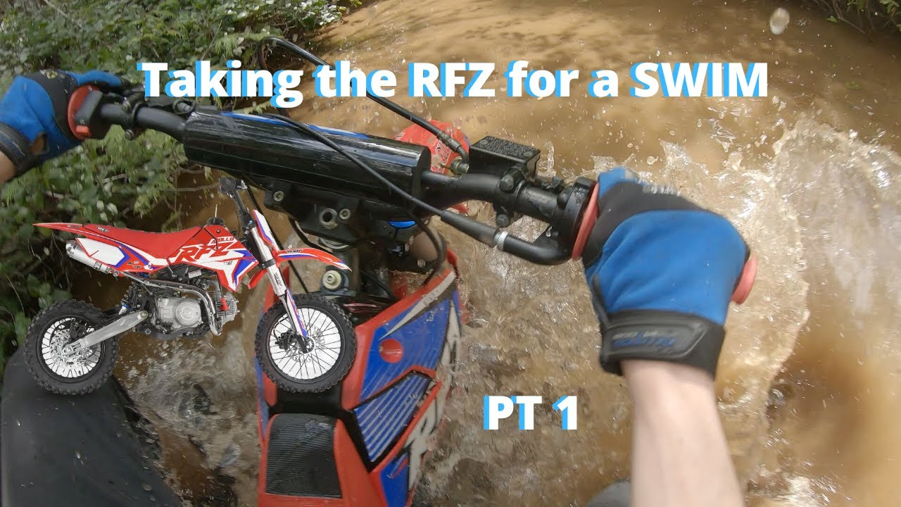 Can a Chinese Pit Bike Keep Up With Brand Name Bikes On Trails? 125CC vs 350CC   PT 1