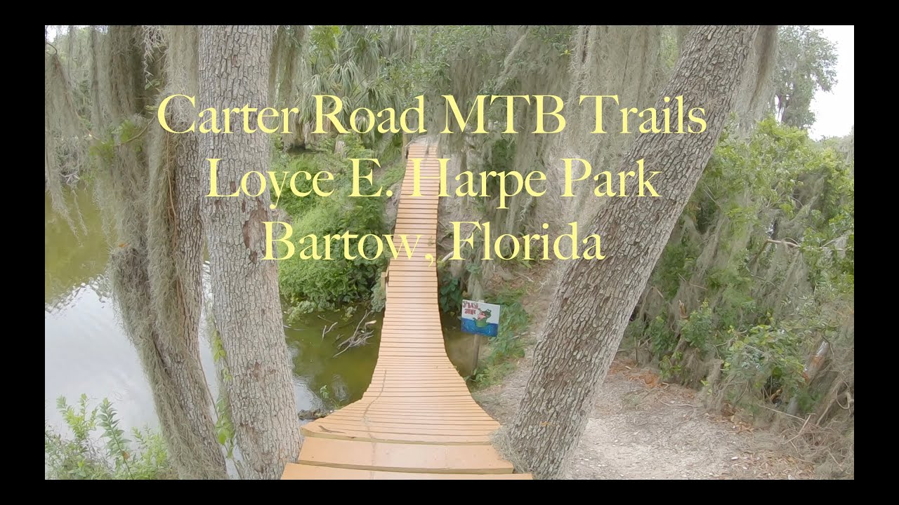Carter Road Mountain Bike Trails in Loyce E. Harpe Park (Bartow, Florida)