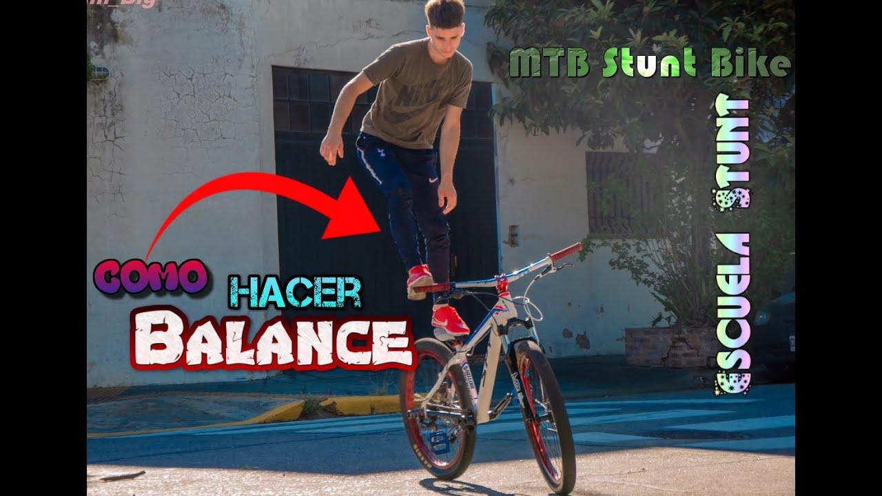 Como hacer balance / MTB Stunt Bike/ Escuela Stunt 3#