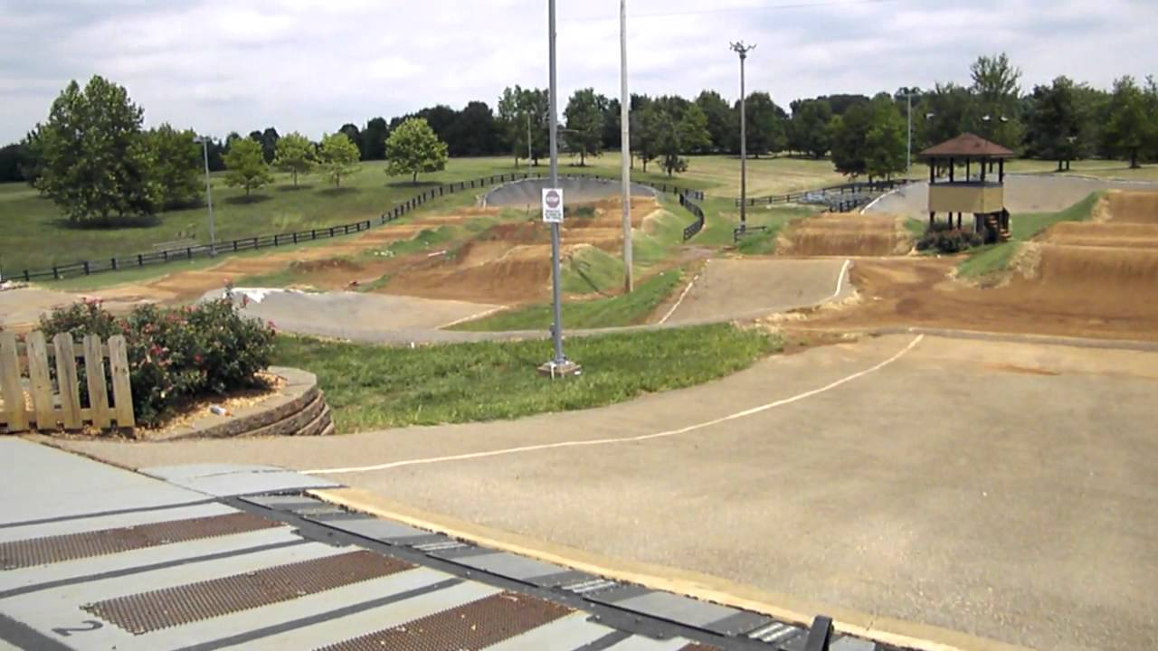 Derby City BMX Track 2011 View from the Gate