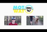 FAST Mountain Bike riding around Westleigh MTB trails with Oscar the Viszla | Trail Dog