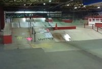 First go on the ramps