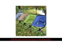 Folding 360 Degree Swivel Aluminum Alloy Portable Camping Chair for Outdoor Picnic Hiking Bicyclin