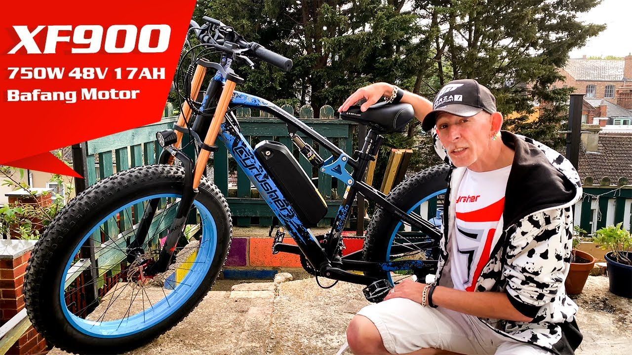 Full Suspension Fat Tire Electric Bike Review 2020 | Cyrusher XF900