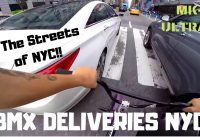 INSTRUMENTAL #8 / BMX / DELIVERIES IN NEW YORK CITY TRAFFIC / GoPro / MK-ULTRAH