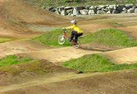 Isn't he cool?  The perfect rolling guy!!  BMX  CHICHIBU JPN