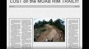 MOAB, UTAH Porcupine Rim Mountain Bike Trail