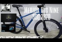 Merida Big Nine 300 2020|Quick Bike check ep. 2