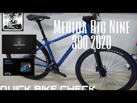 Merida Big Nine 300 2020 Quick Bike check ep. 2
