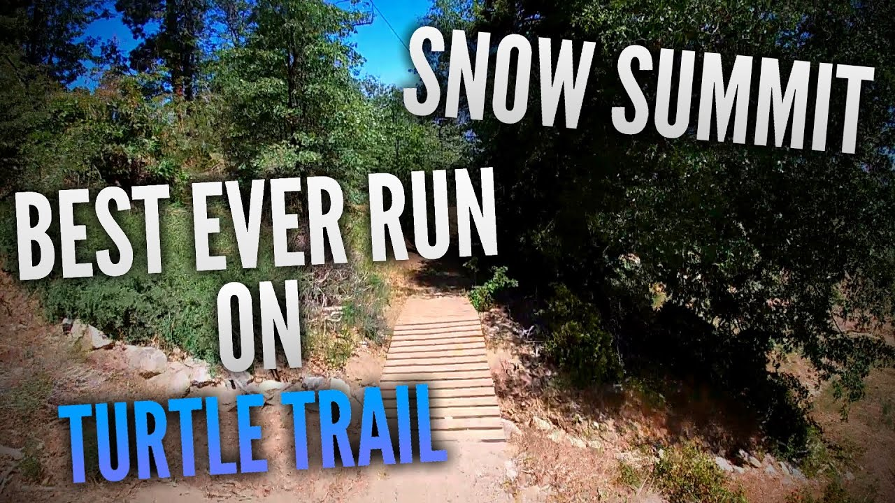 My BEST EVER Turtle Trail Run POV | Snow Summit Bike Park 2020