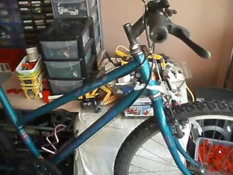 New project. Raleigh Solo Mountain bike.