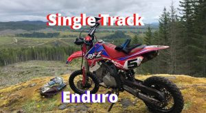 Pit Bike Single Track Enduro Riding!   Apollo RFZ 125cc