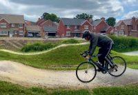 Pump Track on A Road Bike - Shropshire MTB