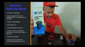 Quad Lock Bike Handlebar Stem Phone Mount (MTB Phone Mounts) Review