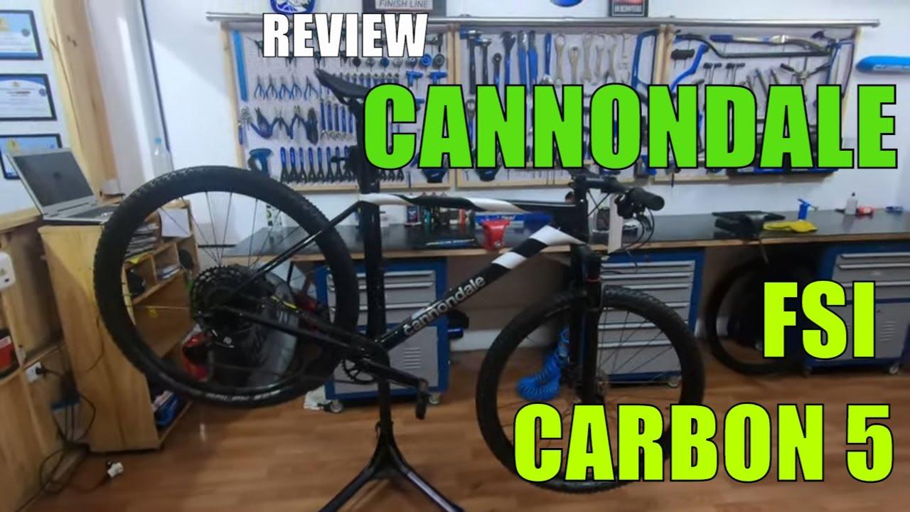 REVIEW CANNONDALE FSI CARBON 5   CANAL DIAS