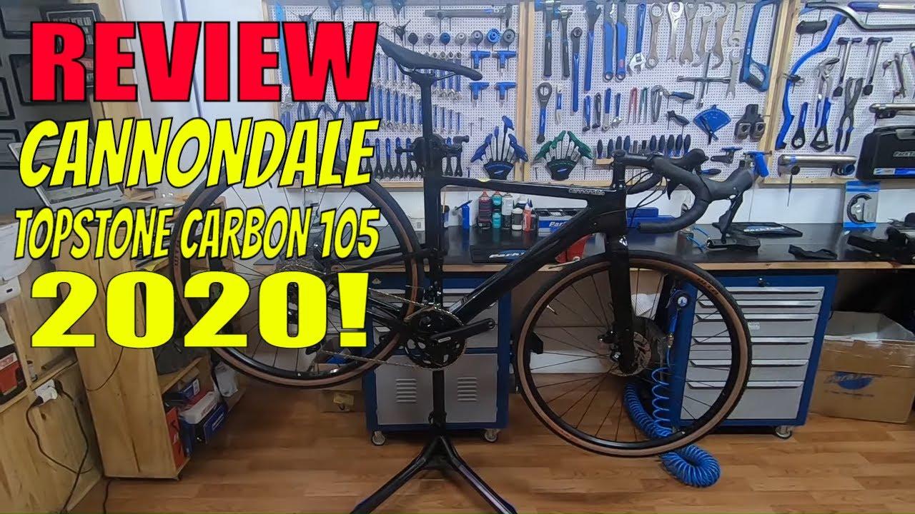 REVIEW CANNONDALE GRAVEL TOPSTONE CARBON 105 2020! I CANAL DIAS