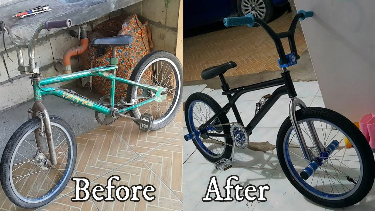 Restoring my BMX in 10 Minutes