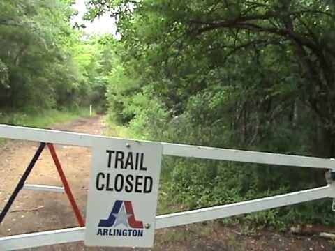 The Best Mountain Bike Trail - Arlington, Texas