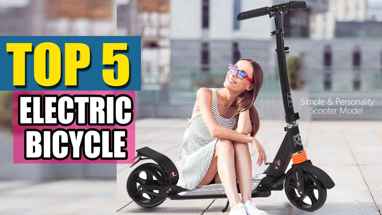 Top 5 Best Electric Bicycles In 2020 - You Can Buy On Amazon
