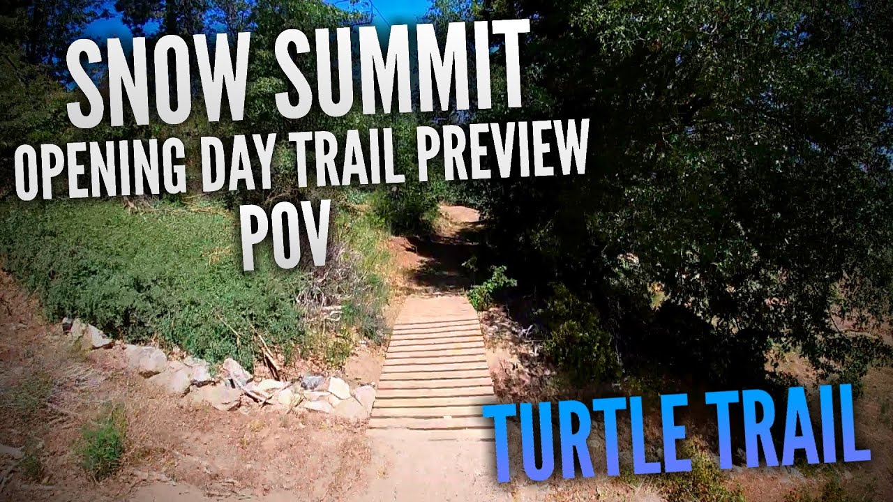 Turtle Trail POV (The BEST Blue Trail) | Snow Summit Bike Park OPENING DAY 2020