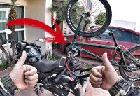 UN DÍA DE TRABAJO BMX EN MI SUZUKI GIXXER 150CC