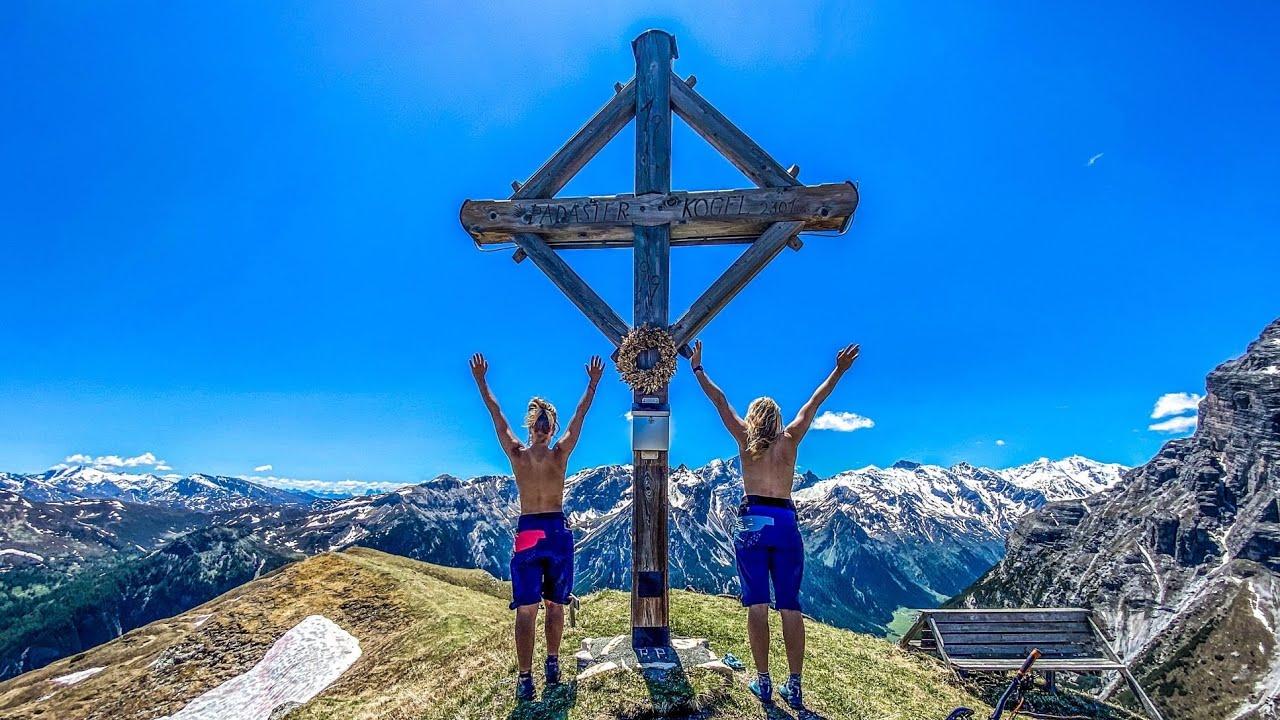 VANLIFE & BIKE ABENTEUER WIPPTAL / MOUNTAINBIKE TOUR TUXER ALPEN TIROL / Secret Mtb Trail 2020