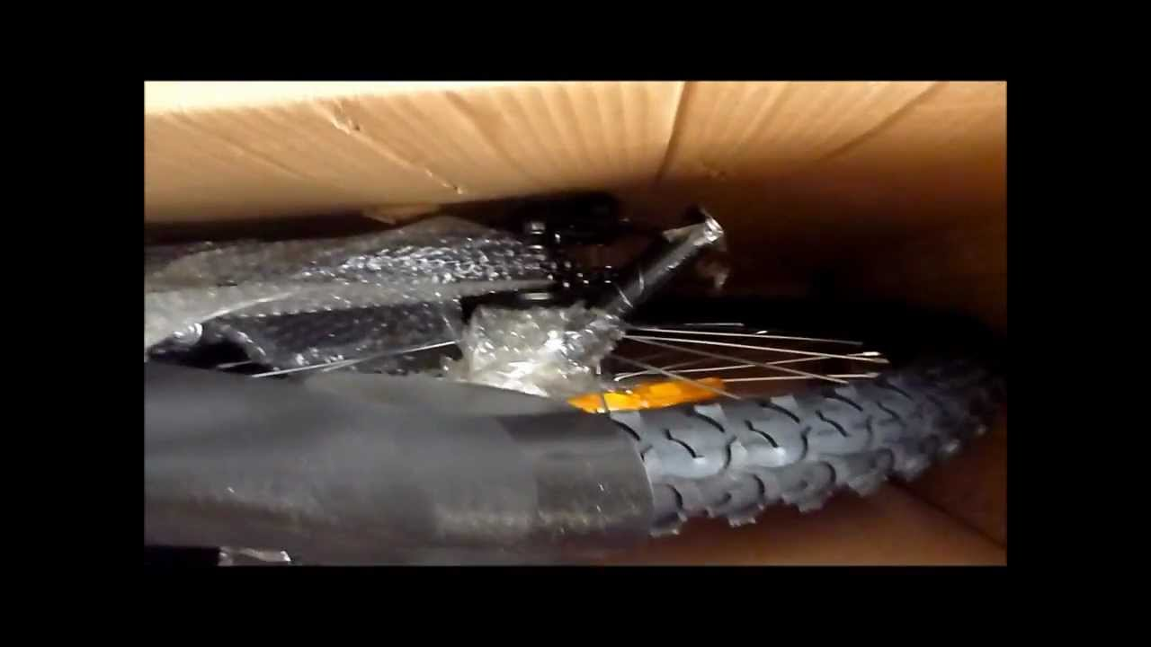 Y Electric Dream Bike F207 Delivered in this Box