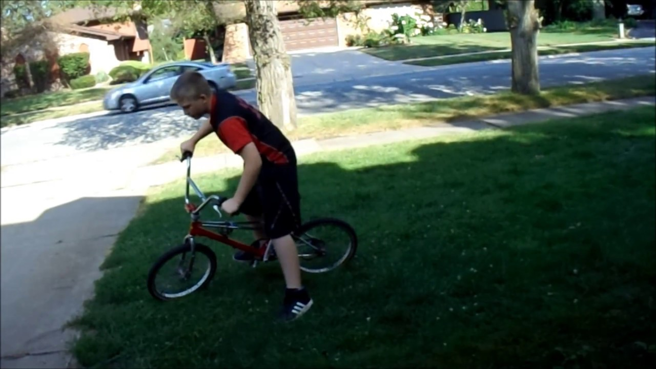 how to wheelie on bmx (works for all bikes)