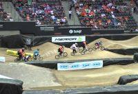 2014 07 23 WK BMX Rotterdam 16e finale race 01 Mike en Joy
