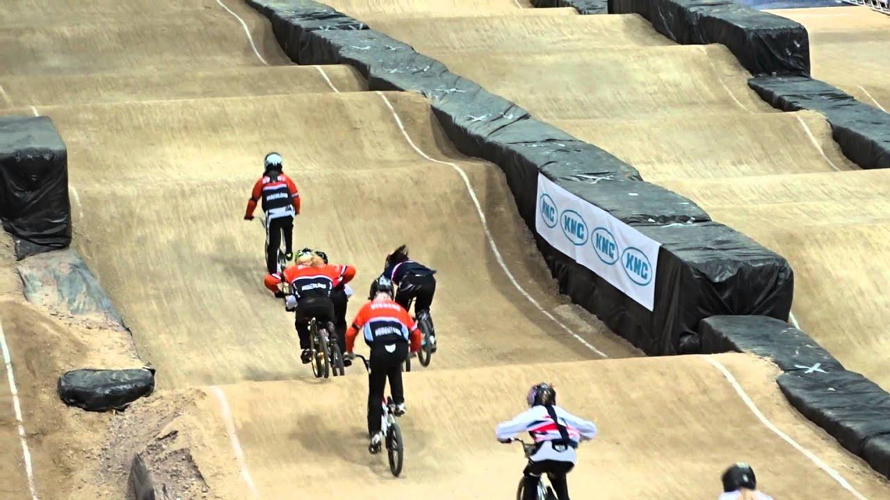 2014 07 23 WK BMX Rotterdam 2e manche race 46 Vera en Shauni