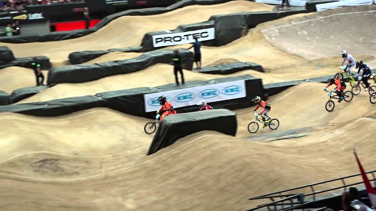 2014 07 23 WK BMX Rotterdam halve finale race 08