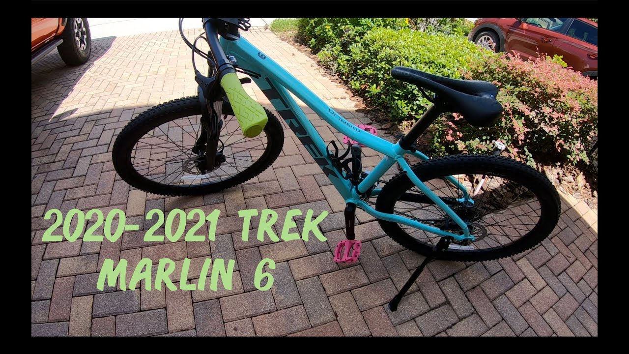 2020-2021 Trek Marlin 6 Mountain Bike Preview