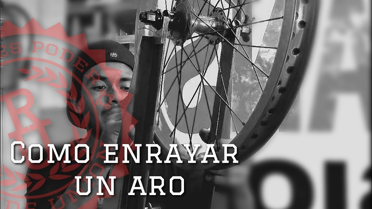 BMX Como enrayar un aro - How to lace a wheel
