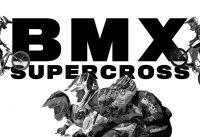 BMX Supercross | Big Jumps, Fast Speeds and Huge Crashes...