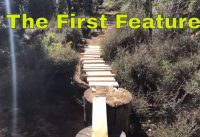 Backyard Mountain Bike Feature Build (Ladder Skinny Feature)