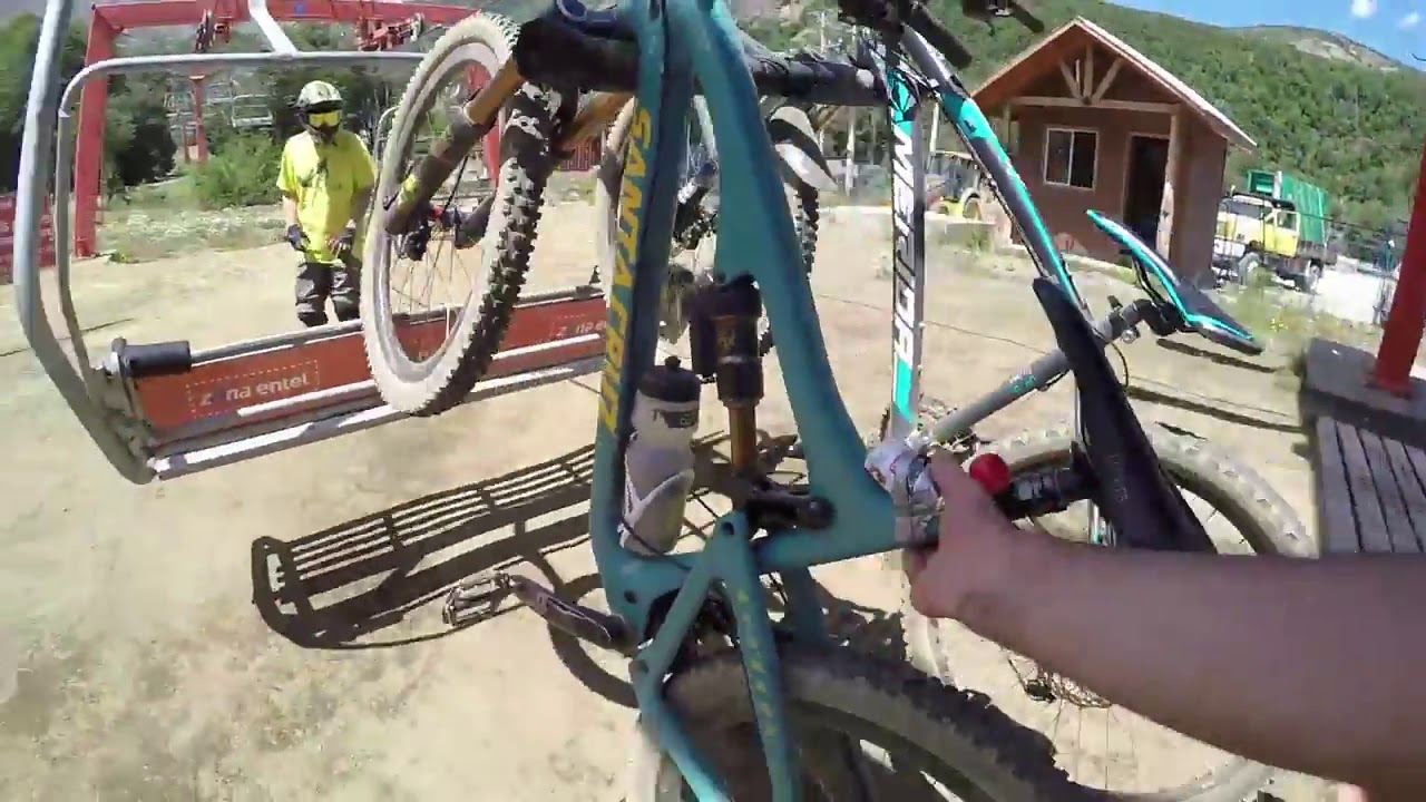 Bike ride at dangerous road