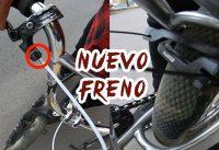 COMO INSTALAR  FRENO A TU BMX FACIL Y RAPIDO SALVA TUS LLANTAS Y TENIS!