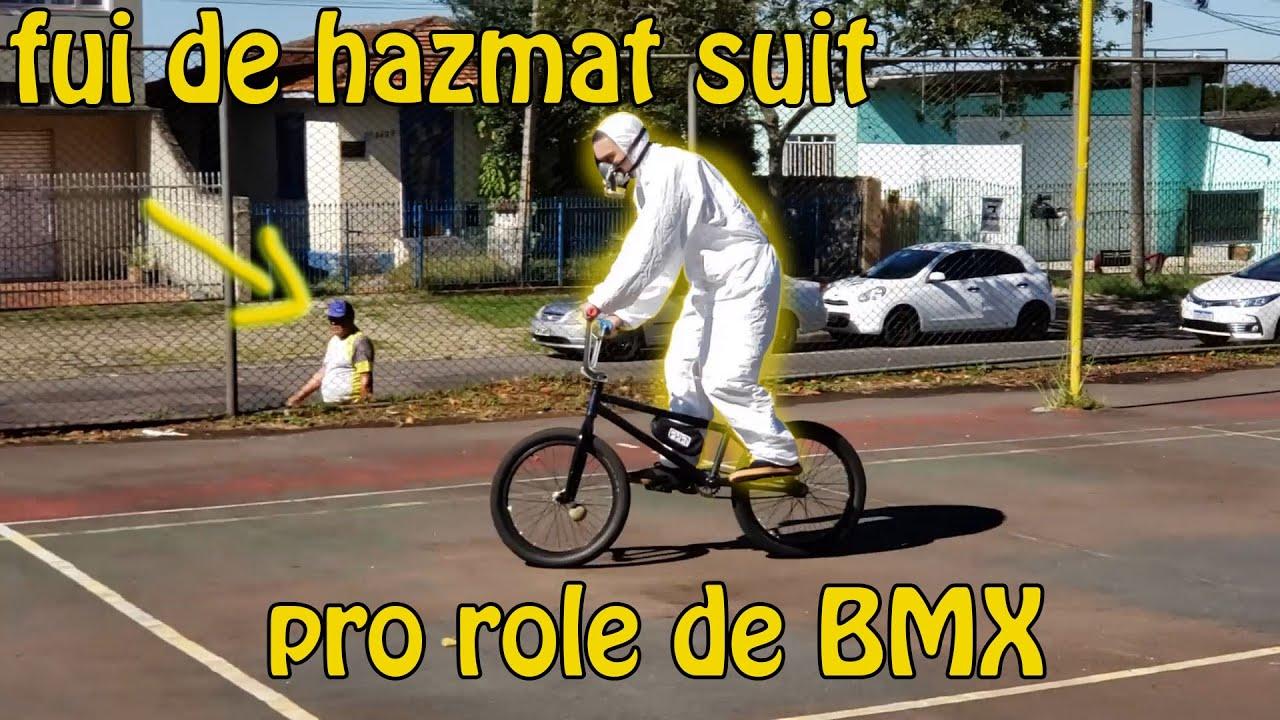 Fui de hazmat suit pro role de BMX