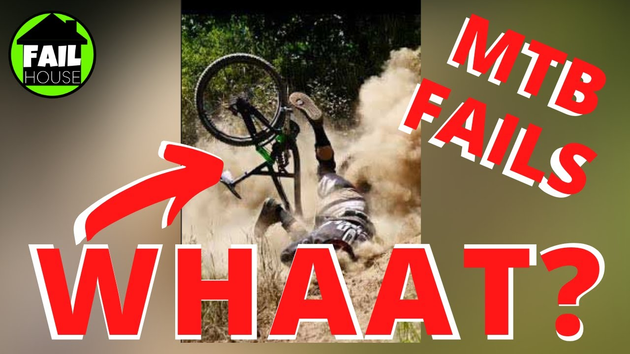 Funny Mountain bike fails, Enduro, DH