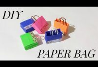 How To Make DIY Paper Bag | Craft | Origami | Easy | Folding | Paper Craft | ART HIGHLIGHTS | #11
