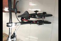 How to Roll Dahon 19 K3 14 inch Folding Bike without Landing Gear