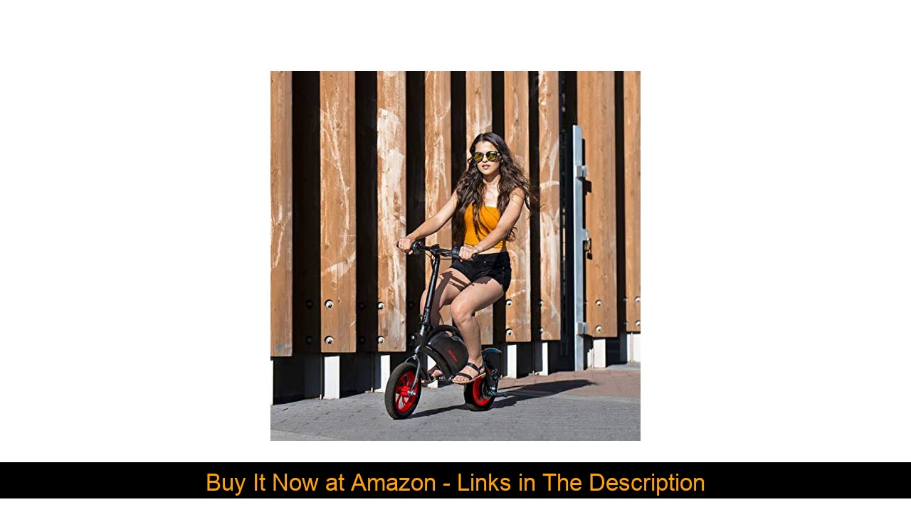 ☀️ Jetson Bolt Folding Electric Bike with LCD Display, Lightweight & Portable with Carrying Handle,