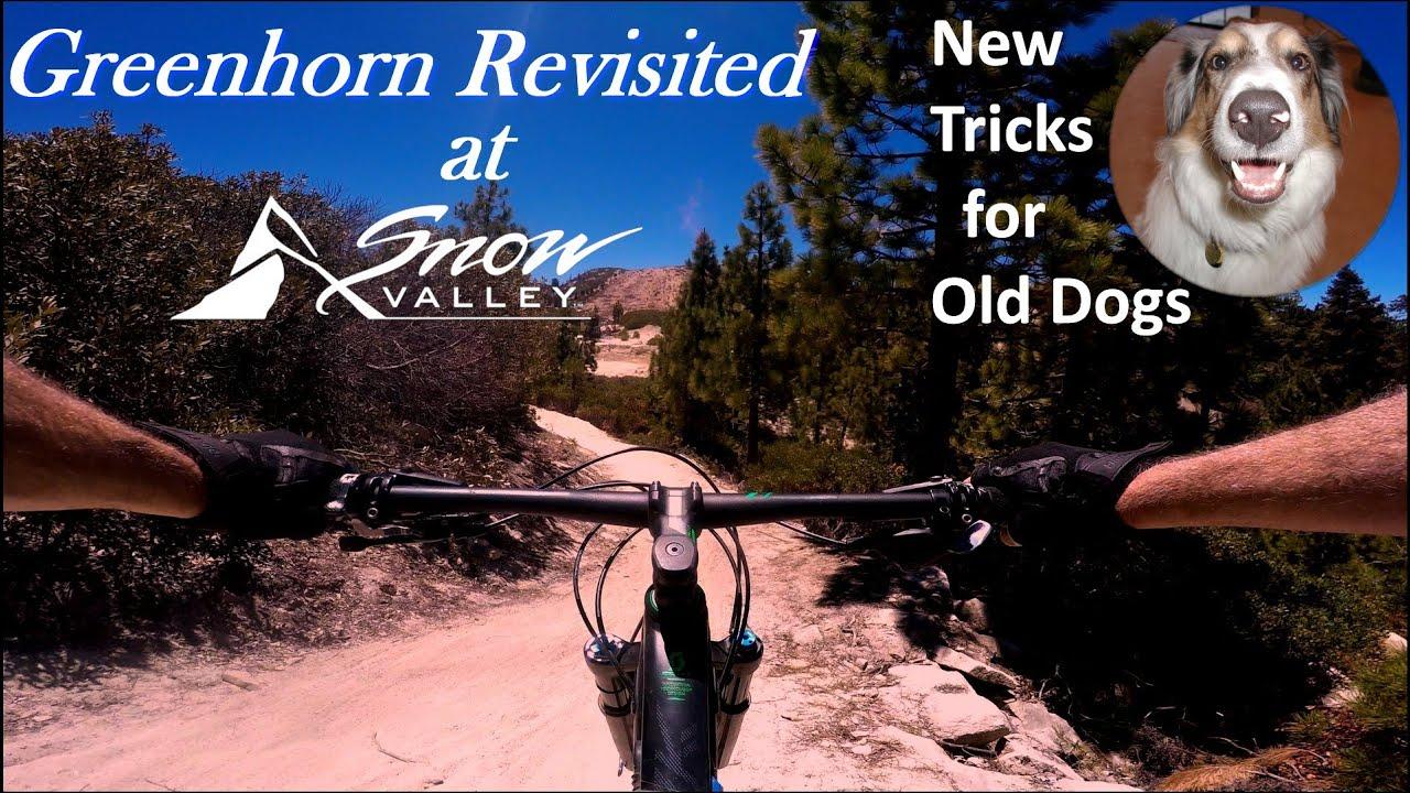 June 2020, Greenhorn trail re-visited at Snow Valley Bike Park