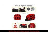 KINGBIKE Men Bicycle Helmet Ultralight Road MTB Mountain Bike Cycling Helmet With Back Light casco