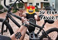 🥳 LE REGALO UNA BMX A VALENTINA POR SU CUMPLEAÑOS 🎉