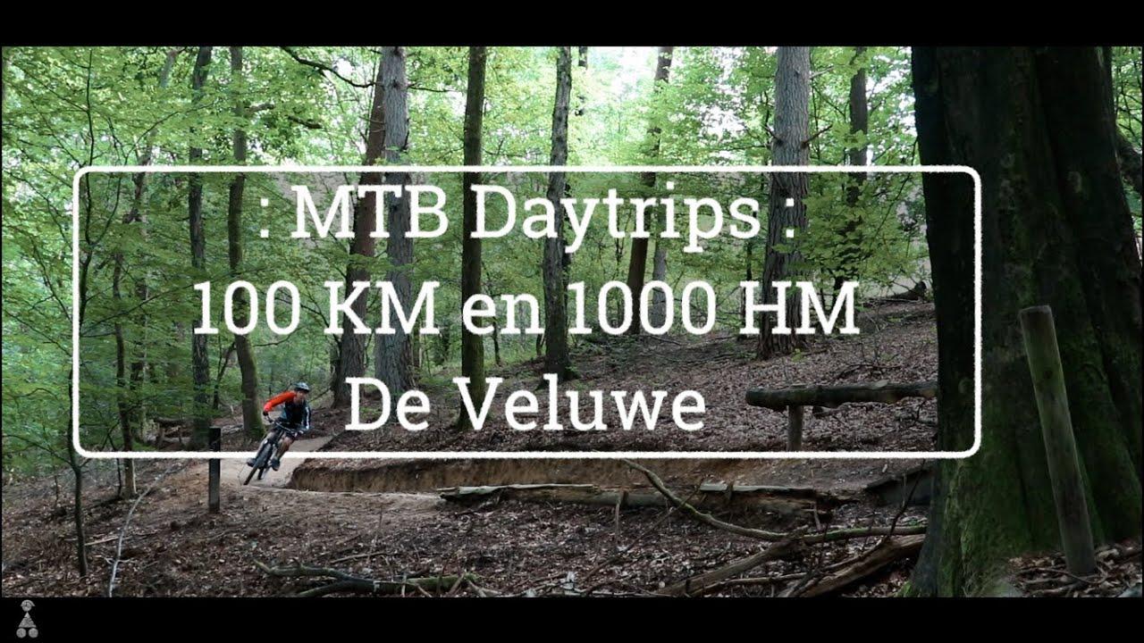 MTB Daytrips // Met een E-bike over de Veluwe // MTB Challenge