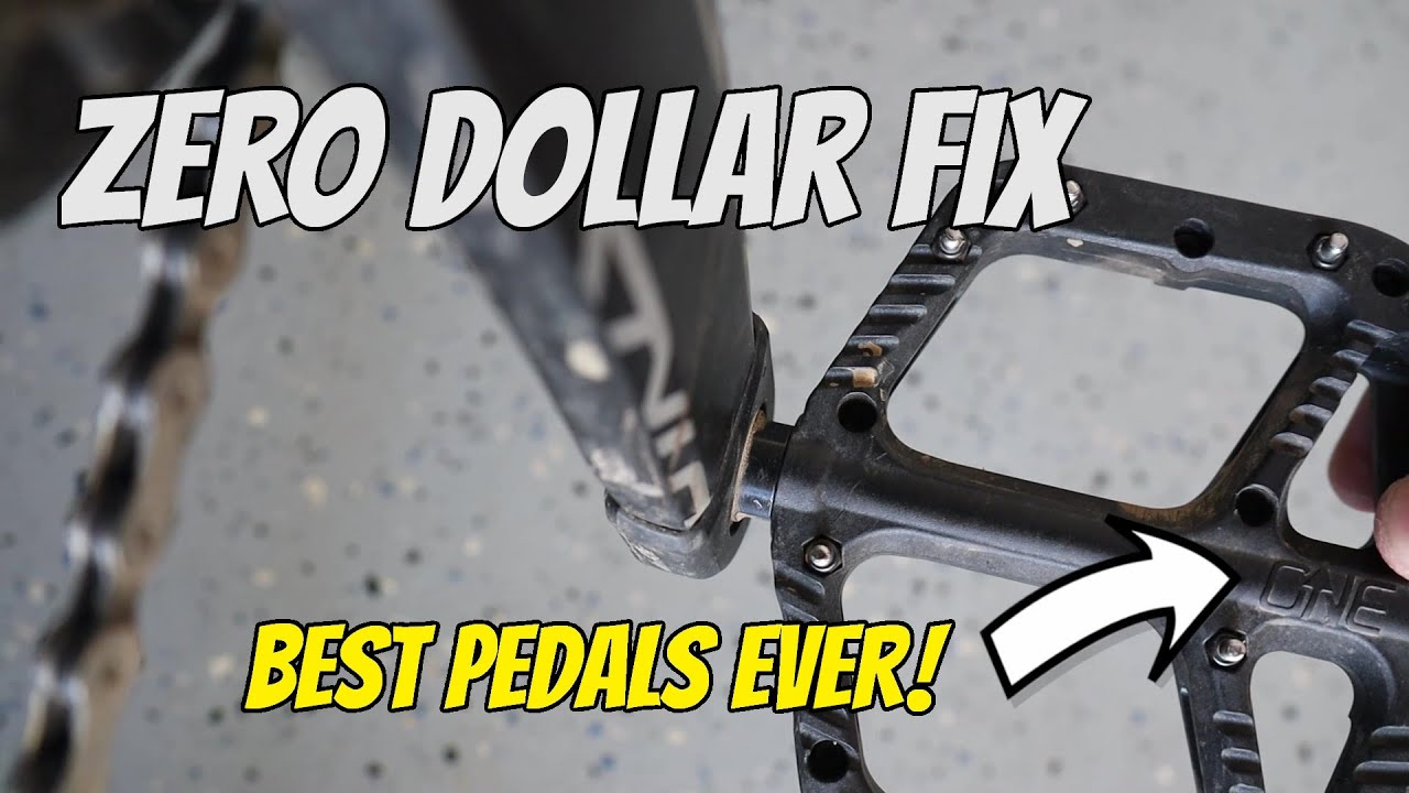 #MTBPlanB Best Mountain Bike flat pedals ever...but there's a problem!