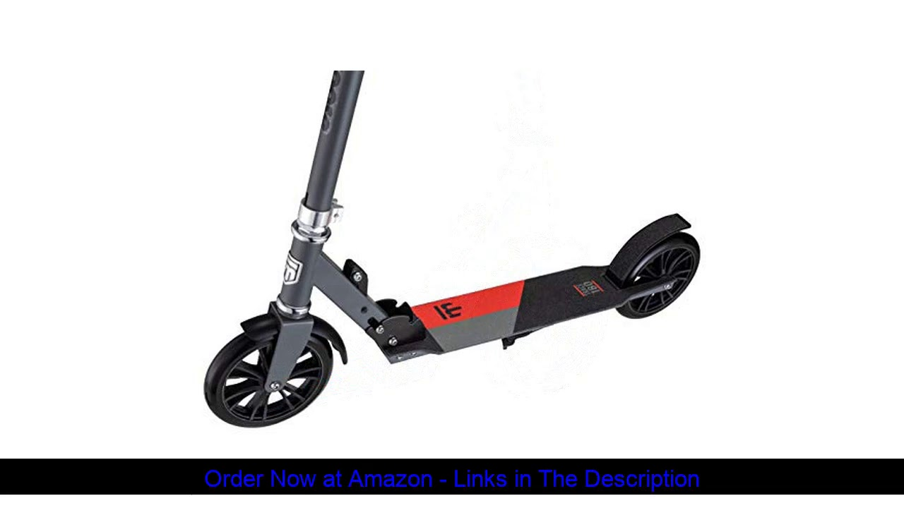 ⚡️ Mongoose Trace Youth/Adult Kick Scooter Folding and Non-Folding Design, Regular, Lighted, and Ai